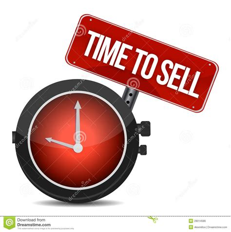 Time To Sell Concept Royalty Free Stock Image   Image