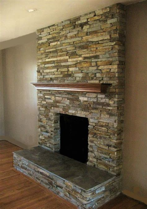 stacked rock fireplace focal point styling moving tips distance home searching
