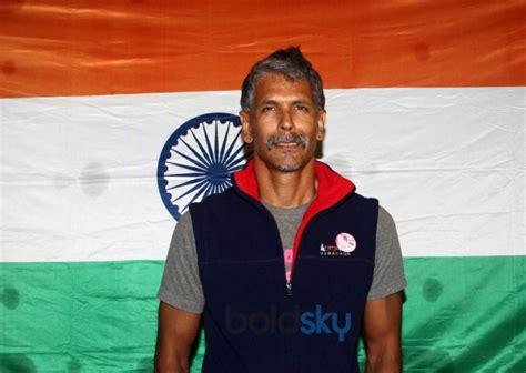 milind soman returns india winning iron man award
