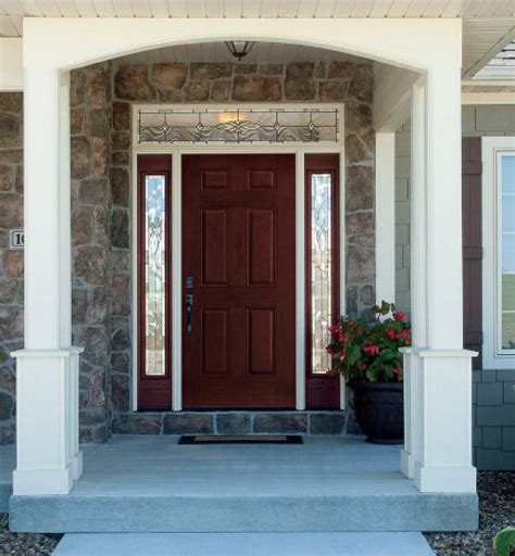 Replacing An Entry Door Can Transform An Exterior House House Front Door