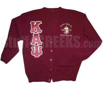 Cs R Sweater kappa alpha psi letter cardigan with embellished