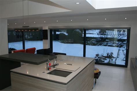 Building An Island In Your Kitchen by House Extension Ideas Lean To Wrap Around Extension