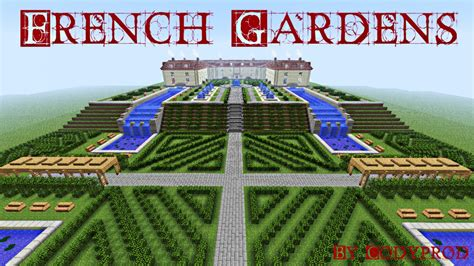 Home Garden Decoration Ideas French Gardens Minecraft Project