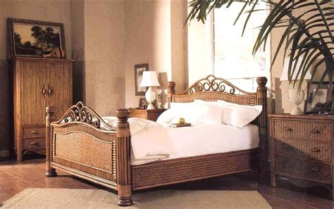 bamboo bedroom furniture sets the 19 best images about rattan and wicker complete beds