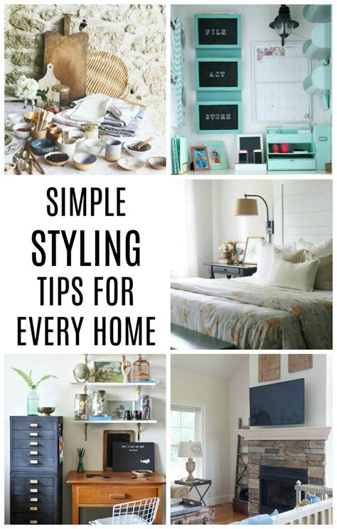 simple styling tips for every home skills