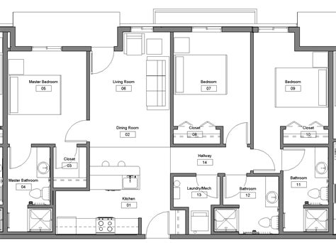best 3 bedroom floor plan floor plan 3 bedroom joy studio design gallery best design