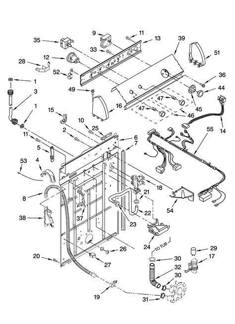 roper washing machine wiring diagram repair wiring scheme