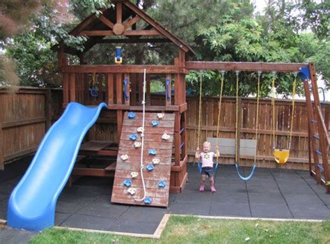 backyard play area designs 44 best images about playground ideas on