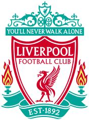 Liverpool Custom Logo 3 liverpool official football metal number plate sign