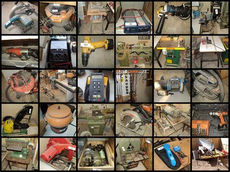 woodworking equipment shop  auction bentley