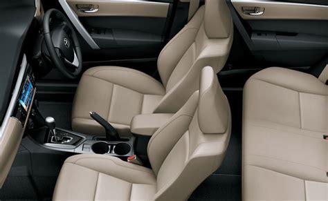 Toyota Corolla Leather Seats Toyota Corolla Grande Price A Brilliant New Car Of 2017