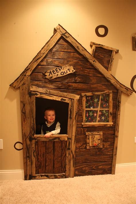 Playhouse Windows And Doors Ideas Magical Indoor Playhouses Design Dazzle
