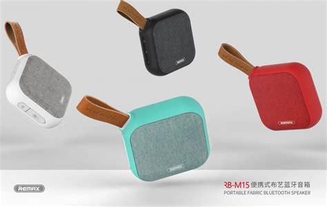 Remax Fabric Bluetooth Speaker Rb M16 remax fabric bluetooth speaker rb m15 black jakartanotebook