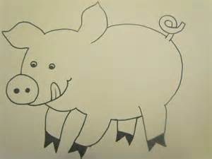 pig template for preschoolers babies toddlers and preschoolers oh my on the farm