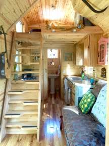 Outside Storage Shed Plans Nicki S Colorful Victorian Tiny House After One Year
