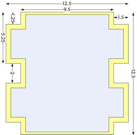 how to make a stencil template spacefem box shaped zipper pencil tutorial
