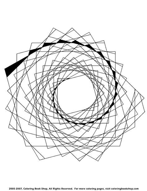 spiral mandala coloring pages spiral mandala abstract free printable coloring page