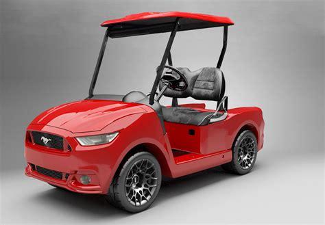 golf cart ford mustang custom golf car caddyshack golf carts