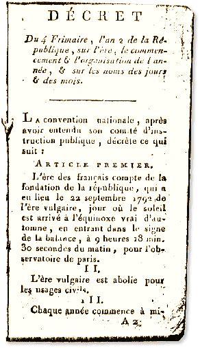 Le Calendrier Republicain Calendrier R 233 Publicain