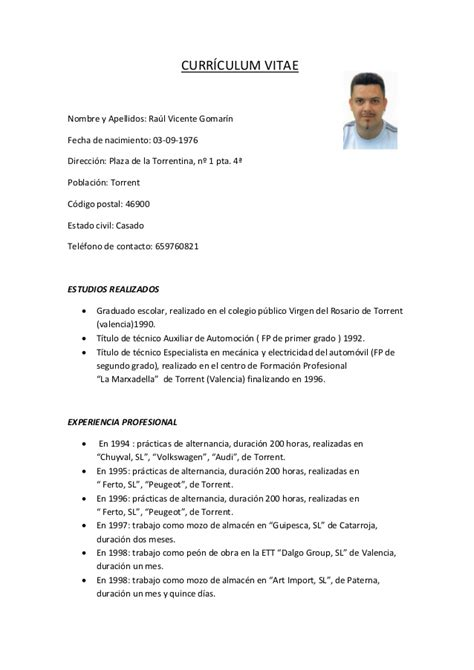 Descargar Modelo De Curriculum Vitae Para Trabajo En Word Ejemplos De Curriculum Vitae Para Descargar Gratis En Word Motorcycle Review And Galleries