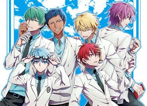 Q Anime Names by 求黑子的篮球 奇迹的世代图片 全员 百度知道