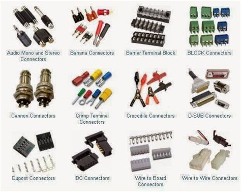 types of wiring connections types of connectors electrical engineering books