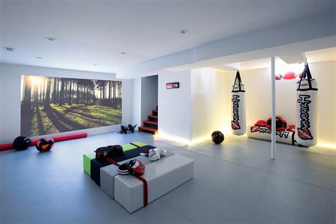home gym lighting design home gym design ideas basement basement contemporary with