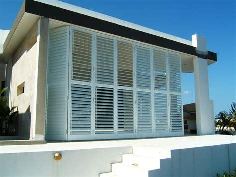 exterior doors brisbane aluminium shutters brisbane external patio shutters brisbane