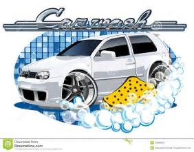 washing a new car car washing sign with sponge stock images image 35669694