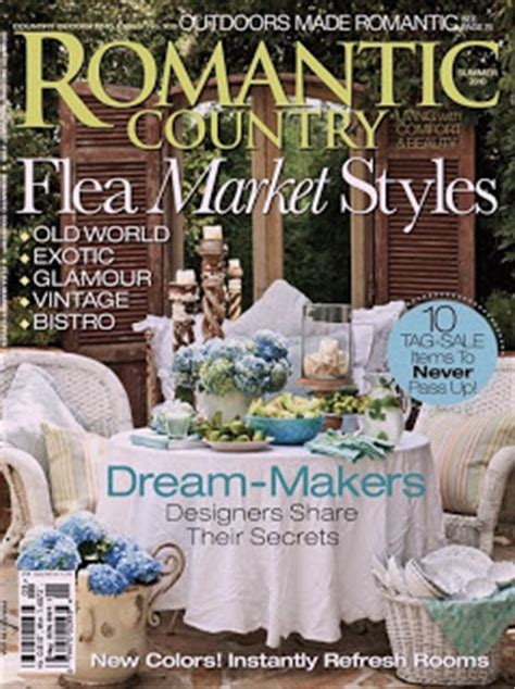 country cottage magazine my whimsical chic cottage country magazine