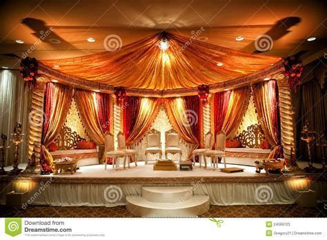 Indian Wedding Mandap Stock Photos   Image: 24599723