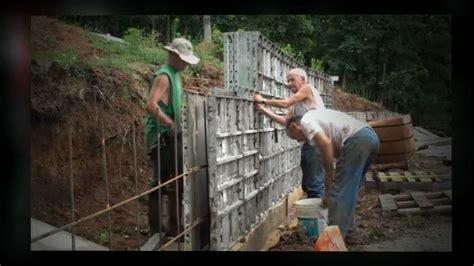 Concrete Form Liners Youtube Decorative Concrete Wall Forms