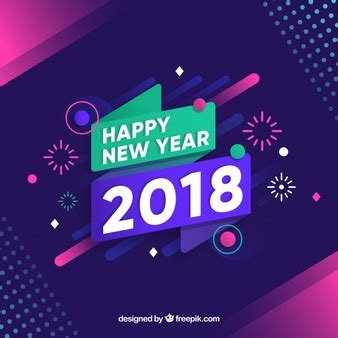 new year 2018 year of the new year background vectors photos and psd files free