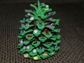 Holiday how to pine cone christmas tree any second now