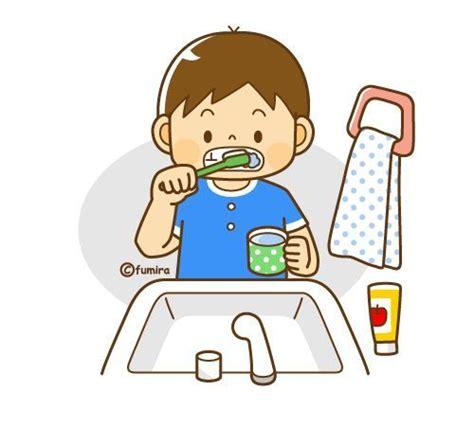 imagenes de niños lavandose los dientes cepillarse los dientes clip art www imgkid com the
