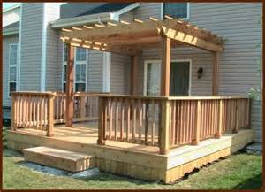 Deck Pergola Photos by The True Cost Of Do It Yourself Decks