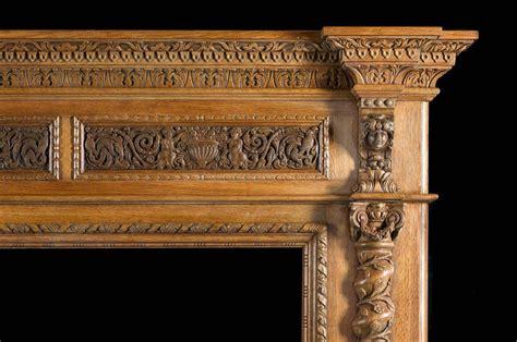 antique italian renaissance style carved oak antique