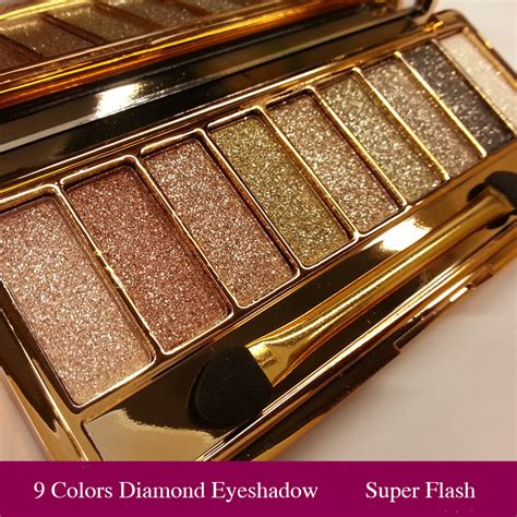 Naket 6 Make Up Set Dompet 9 colors bright makeup eyeshadow smoky palette make up set eye shadow maquillage