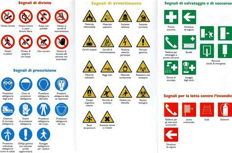 test sicurezza sul lavoro pdf la segnaletica di sicurezza sul luogo di lavoro