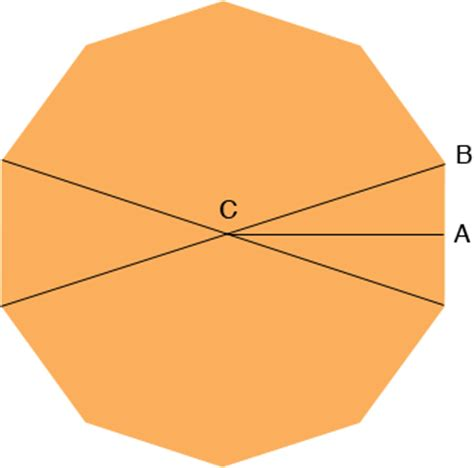 Interior Angle Decagon by The Side Of A Decagon Math Central