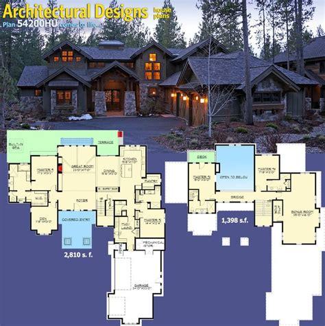 mountain floor 25 best ideas about mountain house plans on