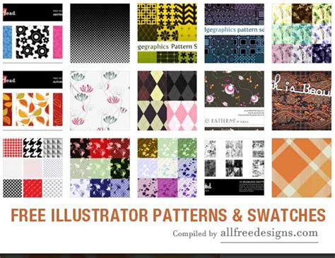 ai pattern swatches download illustrator patterns and swatches you can download free