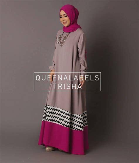 Busana Wanita Muslim 5 foto busana muslim gamis wanita trend sekarang desain