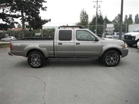2004 nissan frontier xe v6 crew cab long bed 4wd outside