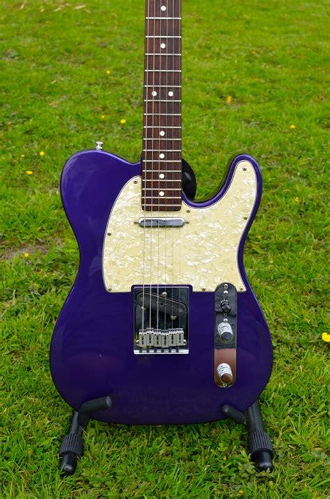 fender american standard telecaster purple metallic