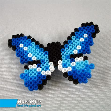 hairpin blue butterfly by slashbite awesome crafts hama