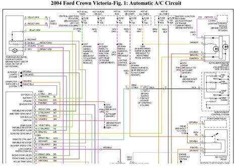 2000 ford crown wiring diagram crown