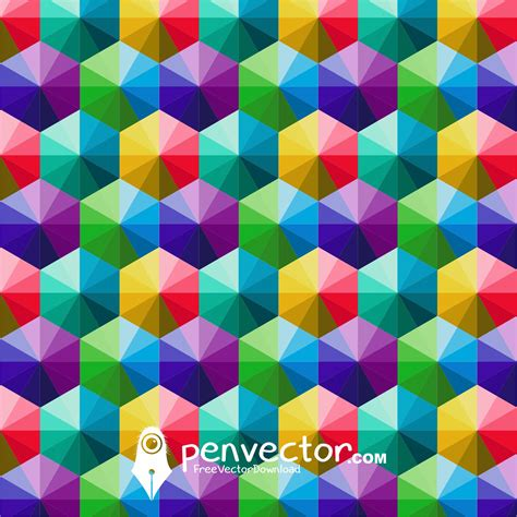 Kaos Colorful Triangle 2 Nm853 triangle color background vector free vector vectorpic