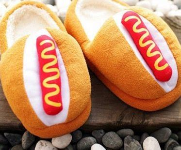 food slippers slippers