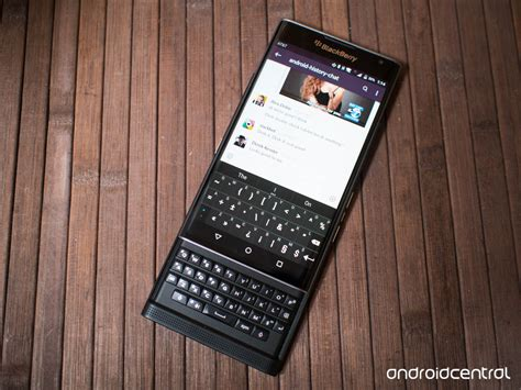 Prive Black blackberry priv review android central